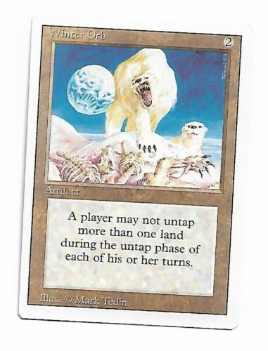 Magic the Gathering ~ 1x Winter Orb ~ Revised ~ M//NM