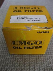 EMGO 1980-1983 Suzuki GS1000G OIL FILTER 10-29800