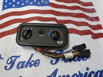 B3 Western Star Heater/AC Control Unit Panel Heater AC Red Dot 60303-3451 |  eBay | Red Dot Ac Unit Wiring |  | eBay