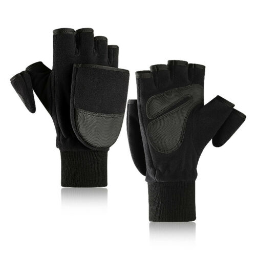 Fingerless Touch Screen Warm Photography Camping Touchable Gloves