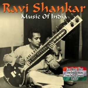 Music-Of-India-3-DISC-SET-Ravi-Shankar-2013-CD-NEUF