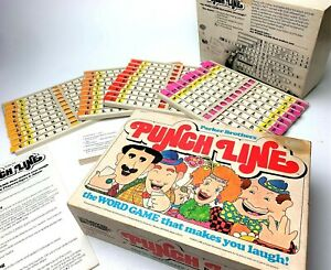 Vintage-Parker-Brothers-Board-Game-034-Punch-Line-034-1978-Punchline-with-Manual