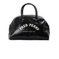 X Fred Perry Classic Grip Bag - Black / Ecru