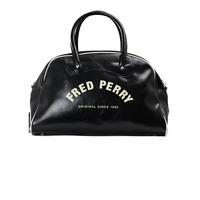 X Fred Perry Classic Grip Bag - Black / Ecru