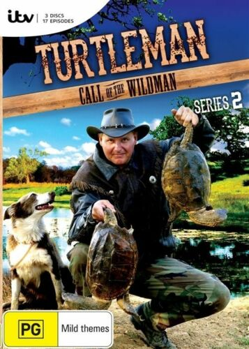 1 of 1 - Turtle Man : Series 2 (DVD, 2013, 3-Disc Set) R4 New, ExRetail Stock (D150)