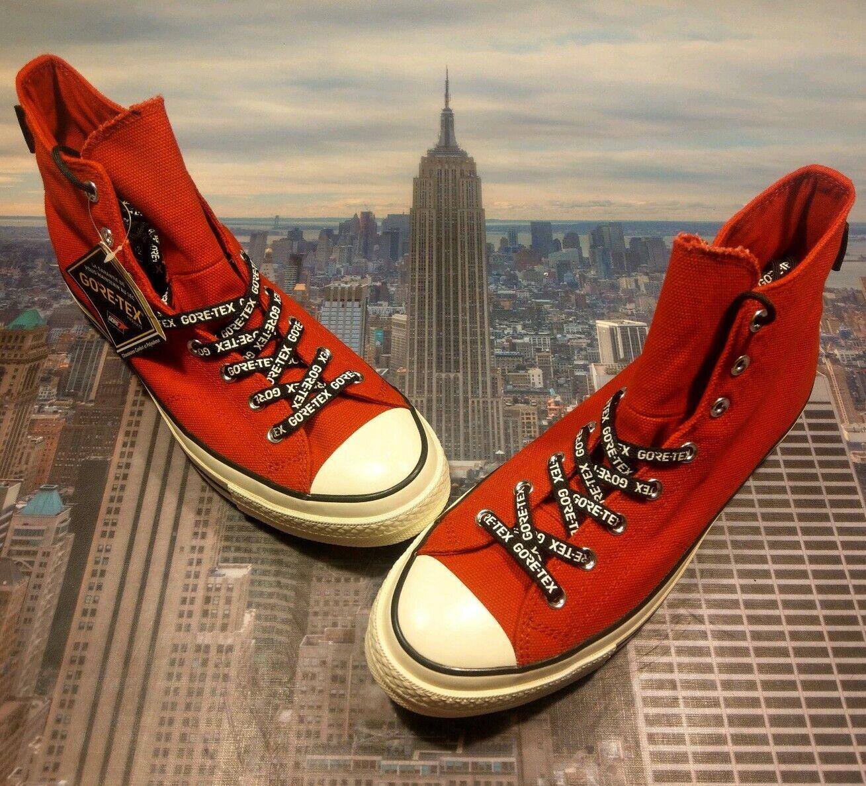 Converse Chuck Taylor 70 Hi High Top Gore-Tex Émail Rouge Pour Homme Taille 11.5 163344 C