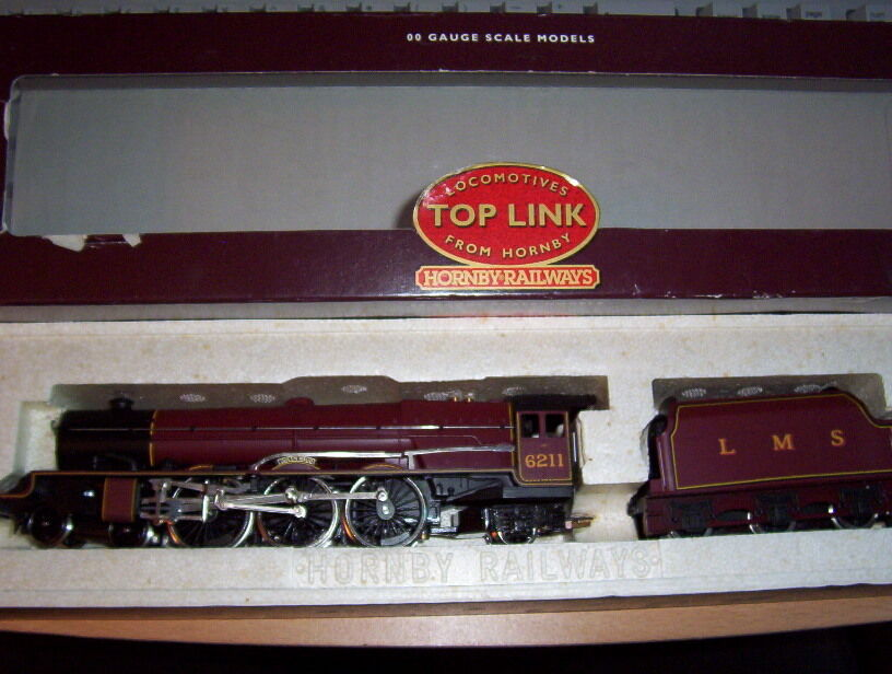 Hornby R2052 LMS 6211 Princess Class L/Edt Maroon Queen Maud UNRUN MINT BOXED