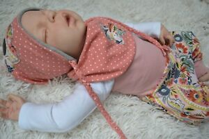 2 Sets Babyset Baby Set Erstlingsset Schlafanzug Orange Rosa Gr 62 68 Mädchen