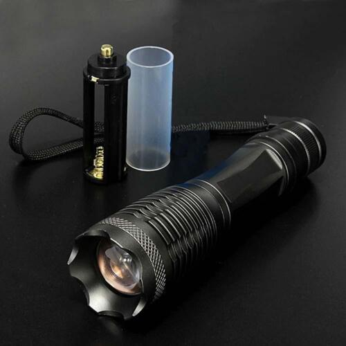 8000lm  X-XML T6 LED Zoomable Lampe torche 18650 AAA AH AT