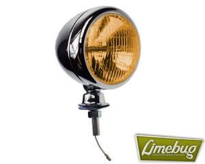 100% Vrai Vw Chrome Bee Larme Ambre Avant Spot Pare-chocs Rail T1 Beetle T2 Bay Bus-afficher Le Titre D'origine