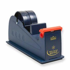 50MM or 2 x 25mm tapes Heavy Duty Metal Bench Tabletop Desktop Tape Dispenser