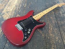 Fender Lead II Red Electric Guitar Made in USA With Orgional Hard Case