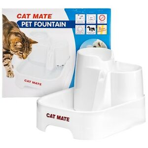Distributore Fontana Fontanella Cat Mate Abbeveratoio Cani E Gatti Dishes, Feeders & Fountains Pet Supplies
