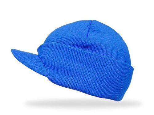 Strickmütze Wintermütze Schirmmütze Mütze mit Schirm