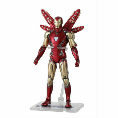 """Armored MK85 Iron Man Marvel Avengers Endgame 7/"""" Action Figure Toys Collection"""