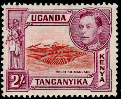 KENYA UGANDA TANGANYIKA SG146b, 2s lakebrown & brwnpurple, LH MINT. Cat 48.