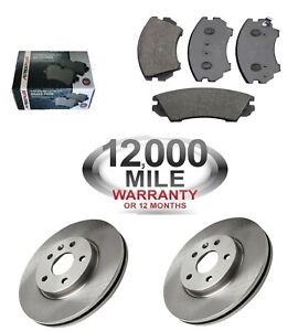 FRONT-BRAKE-DISCS-AND-BRAKE-PADS-FITS-VAUXHALL-INSIGNIA-WITH-321mm-DISCS