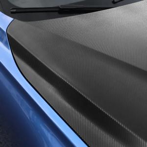 Blue Grey 4D Carbon Fiber Vinyl Film Car DIY Wrap Sheet Roll Film Sticker Decal