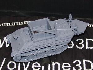 Flames Of War German BergePanther ARV 1/100 15mm FREE SHIPPING