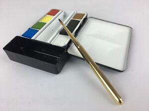 ARTIST-travel-artist-flask-watercolor-metal-palette-box-paint-set-69-Great-Gift