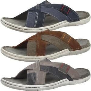 Détails sur Josef Seibel Paul 96 Sandales Men Messieurs Mules Pantoufles Chaussures 43296 977 afficher le titre d'origine