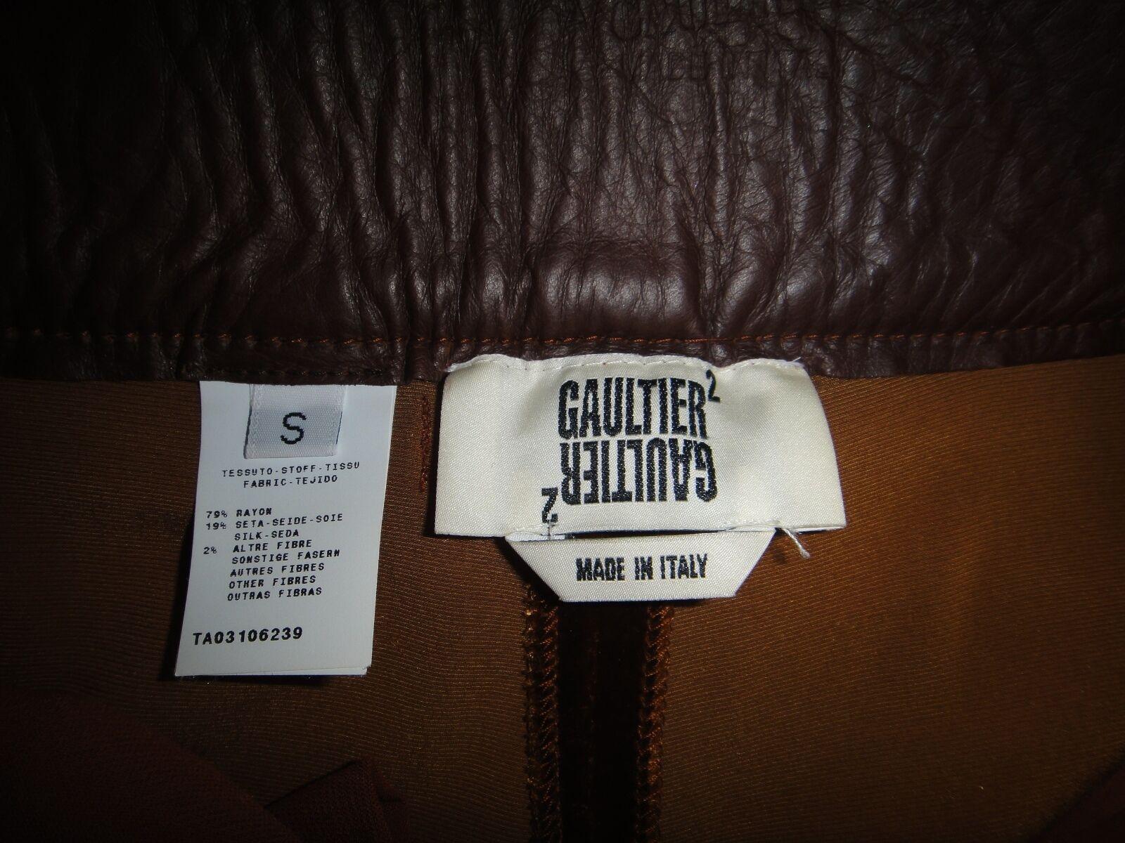 JEAN PAUL GAULTIER FEMME Breeches Cropped 3 4 Pants SIZE S
