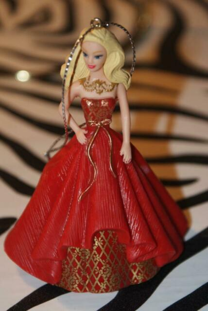 2014 Heirloom Collection HOLIDAY BARBIE Christmas Ornament ...