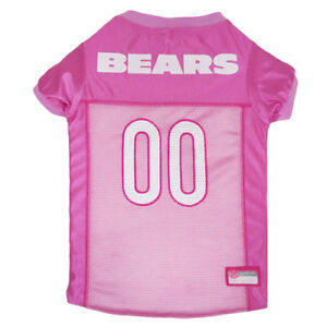 Chicago-Bears-NFL-Pets-First-Licensed-Dog-Pet-Mesh-Pink-Jersey-XS-L-NWT