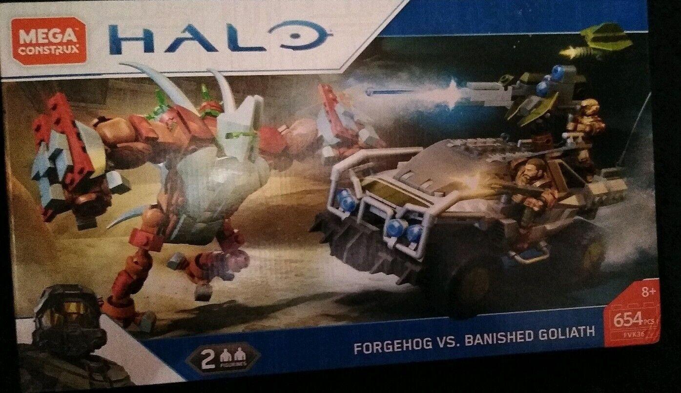 Mega Construx Halo Forgehog Vs Banished Goliath Building Set FVK36 7EPIzo1
