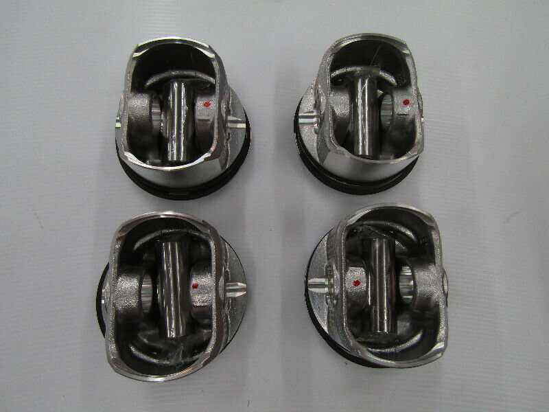 TOYOTA COROLLA 160I 3ZZ-FE ENGINE 20TH  PISTONS WITH RINGS