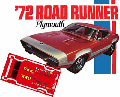 CD/_800 #3 Roger McClusky Plymouth Roadrunner  1:43 scale DECALS