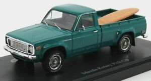 AUTOCULT 1/43 MAZDA   ROTARY PICK-UP WITH SURF BOARD JAPAN 1974   TURQUOISE