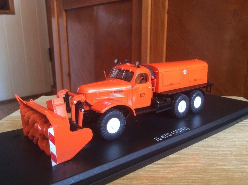 ZIL - 157 e - 470 e camión soviético de nieve 1  43 ruso 1   43
