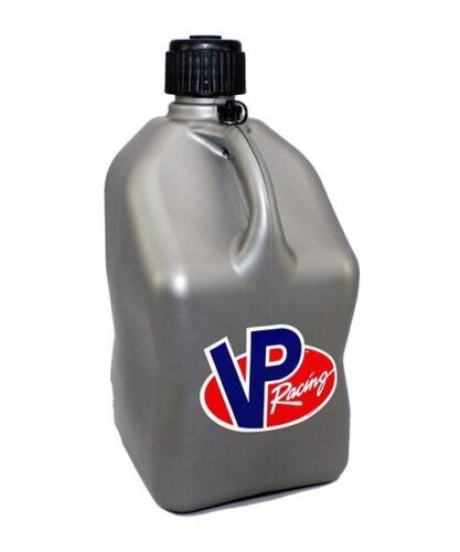 VP Racing Fuel Jug 2000SL 5 Gal Square Motorsports Utility Can Silver Plastic