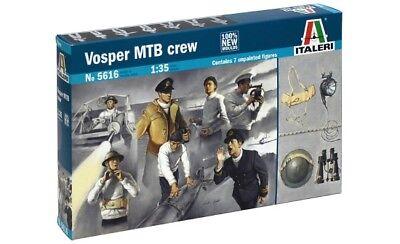 Neu Schnellboot Crew Italeri 5607-1//35 Figuren Set