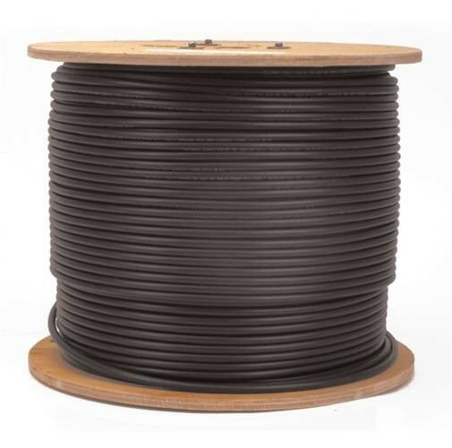 18ga Bulk Commercial Speaker Cable Wire 1000' Spool, Rapco ProCo Wire, USA Made