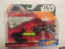 HOT WHEELS STAR WARS BLAST ATTACK STAR DESTROYER NEW ON CARD