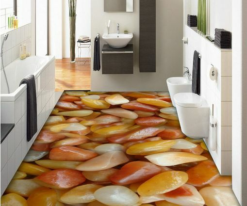 3D pietra giada carta Pavimento Foto Wallpaper Murales Muro Stampa Decalcomania