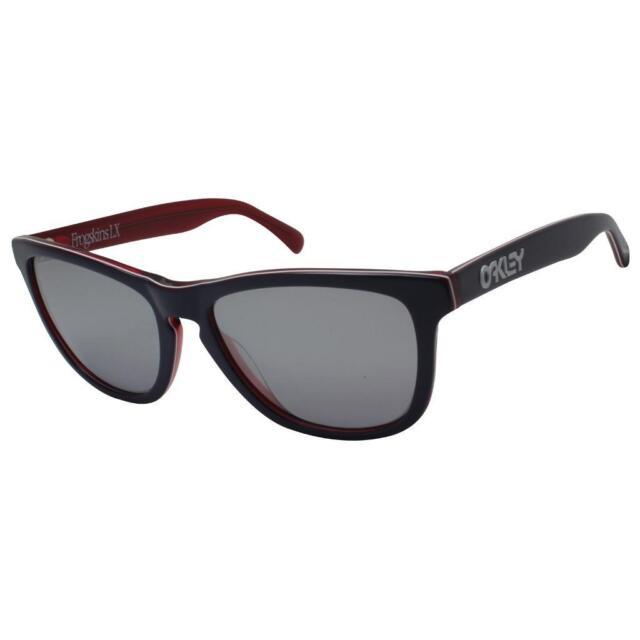 Oakley OO 2043-05 Frogskins LX Navy Chrome Iridium Mens Collectors  Sunglasses . 90723c53e5