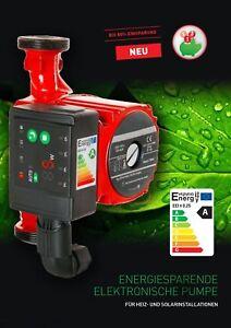 Energieeffizienz-Zirkulationspumpe-Umwaelzpumpe-Heizungspumpe-KLASSE-A-25-60-180