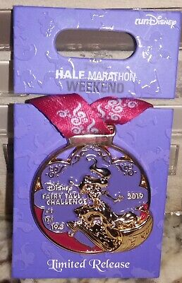 Disney Princess Half Marathon 2015 Glass Slipper Challenge Pin Limited Release