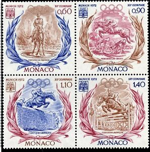 Stamp / Timbre De Monaco N° 890/893 ** Sport / Xx Olymoiade De Munich Vente Chaude 50-70% De RéDuction