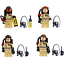 4 Stk Ghost Busters Mini Figuren Ghostbusters Bausteine ​​Spielzeug Toy Fit Lego
