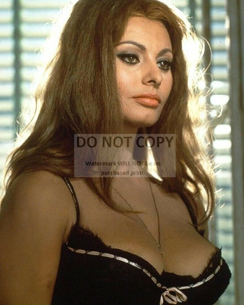 "SOPHIA LOREN IN ITALIAN FILM ""YESTERDAY, TODAY AND TOMORROW"" 8X10 PHOTO (BT291) 2"