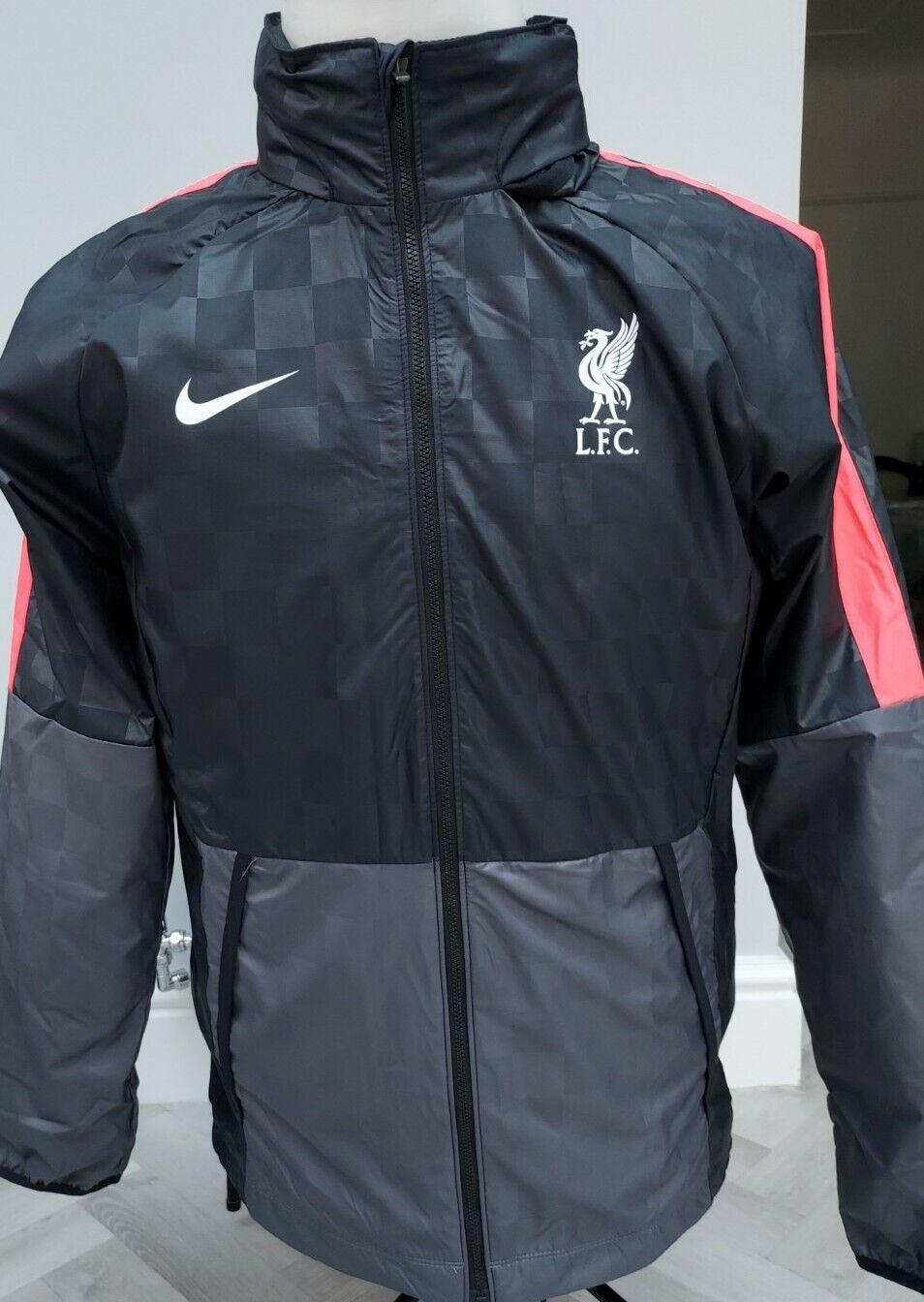 GENUINE Liverpool FC NIKE training JACKET / COAT RRP BNWT / SUPERB MED