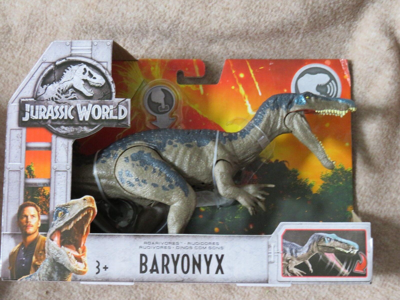 Jurassic World Roarivores   Baryonyx  BNIP  Retired & VHTF