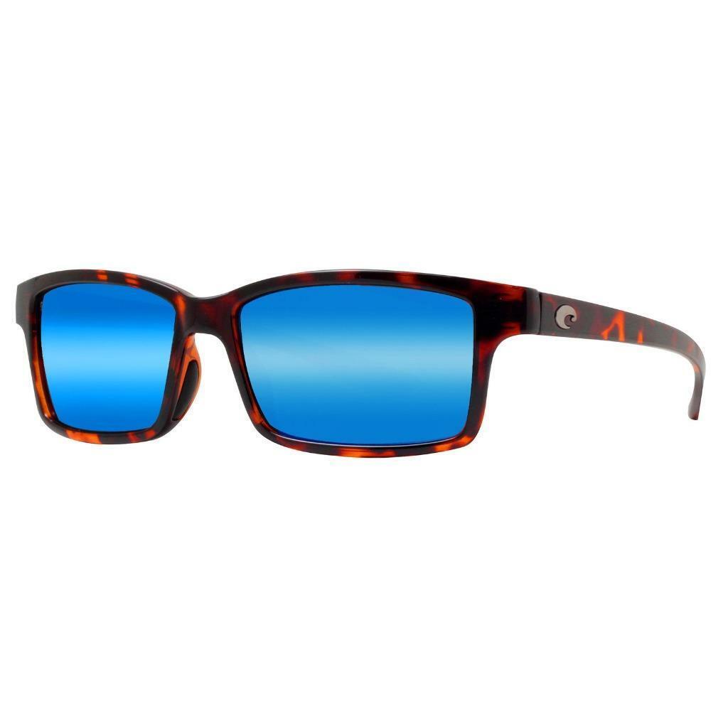 New Costa Del Mar Tern Polarized Sunglasses 580P Retro Tortoise bluee Mirror