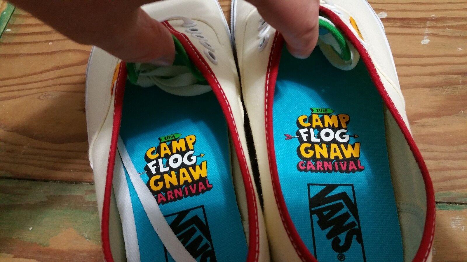 421ef70bad7c58 ... Vans X CFG CFG CFG Camp Flog Gnaw Festival Authentic Size 9 golf wang  supreme wtaps ...