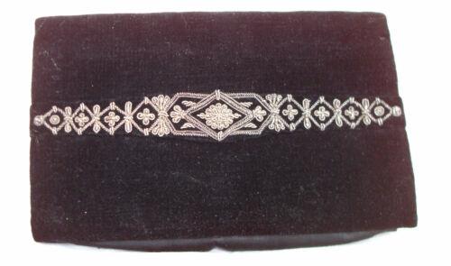 Theatertasche Vintage Abendtasche Alt Clutch Selten Indien dqpp0fE