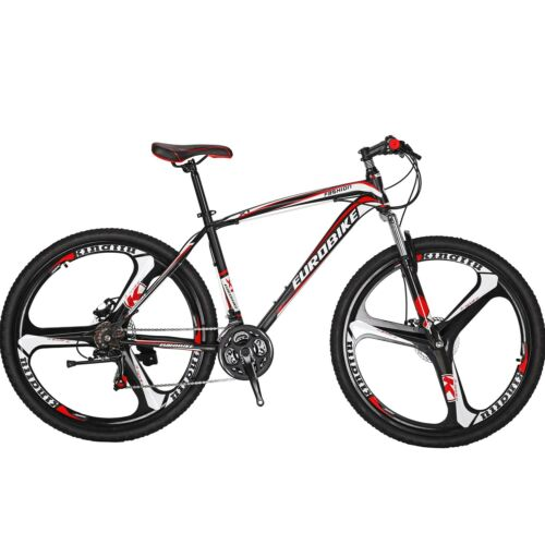 "27.5/"" Mountain Bike Shimano 21 Speed Mens Bicycle Front Suspension Disc Brakes"